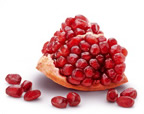 pomegranate fresh cut